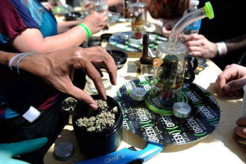 Image of free marijuana sample available at the 2014 Canabis Cup in Denver