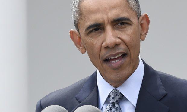 Image of President Barack Obama talking about medical marijuana 4-20-2015