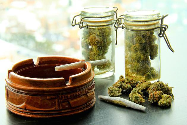 Image of legal marijuana available in Colorado