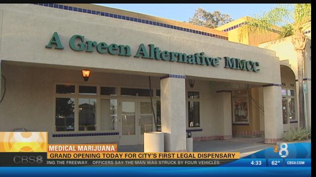 Image of A Green Alternative medical marijuana dispensary