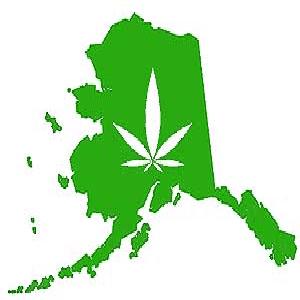Image of Alaska marijuana legalization