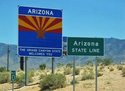 ArizonaWelcomeSignImagePeterZillmannViaWikimediaCommons