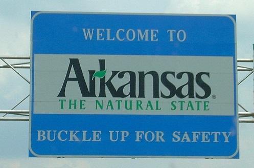 ArkansasWelcomeSignImageErgoSum88ViaWikimediaCommons