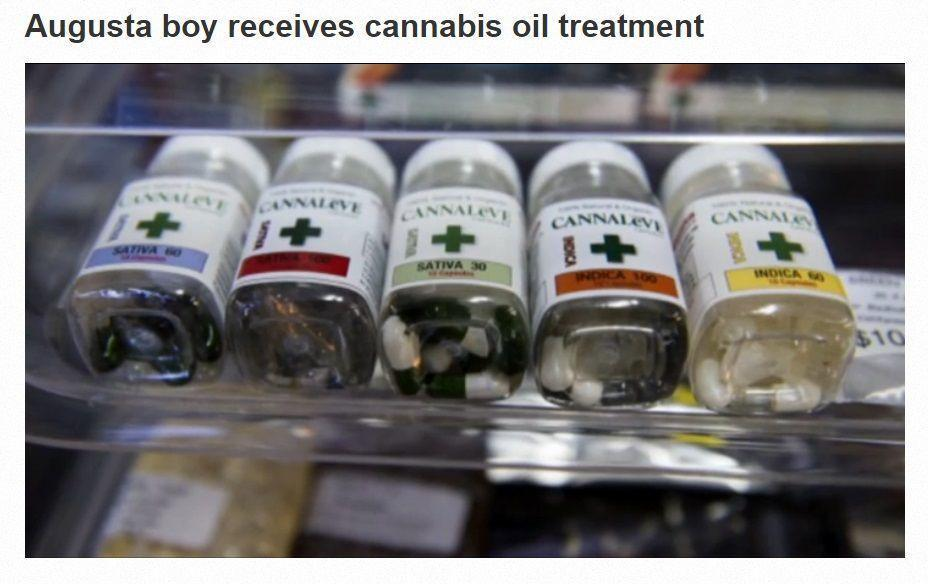 Cannabis Oil CBDs help boy in Geogia