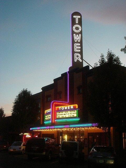 The Tower Theater in Bend, Oregon. Image: Matthew Hickey via Wikimedia Commons