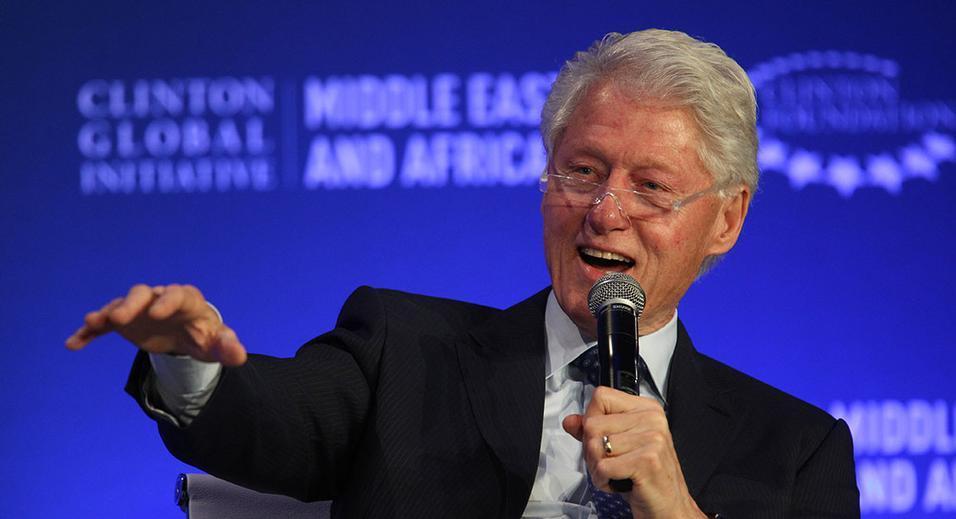 Image of former President Bill Clinton