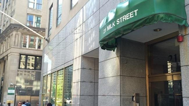 A medical marijuana dispensary has been given conditional approval for 21 Milk Street in Boston. Image: Jessica Bartlett