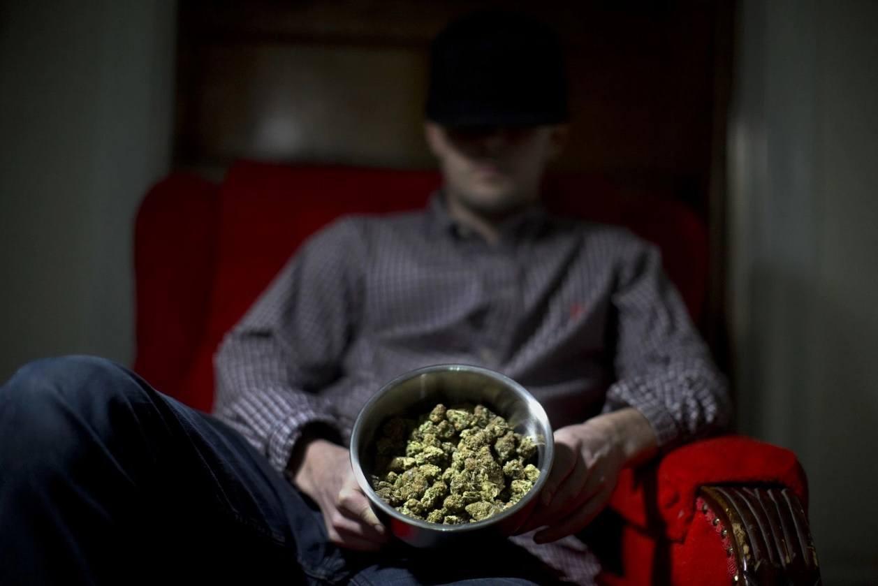 Image of a bowl of marijuana