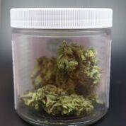 Cannabis buds in jar. Image: WeedWorthy.com