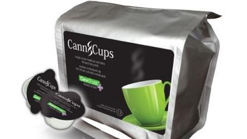 Canadian company CannTrust has developed a pot pod for single-serve coffee makers. Image: CannTrust via CBC News
