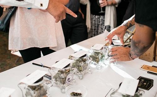 Cannabis Bars Become The Latest Trend At WeddingsImageViaCivilizedDotLIfe