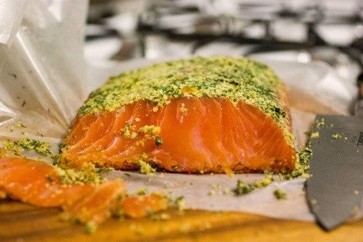 Cannabis-infused salmon. Image: Chris Crowley via Grubstreet.com