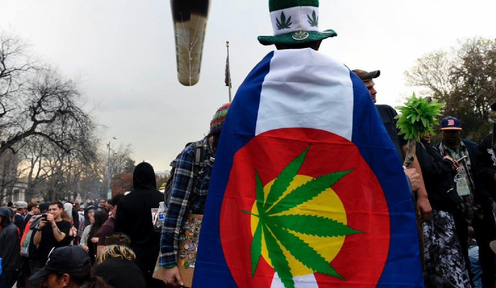Image of Denver 420 celebrations