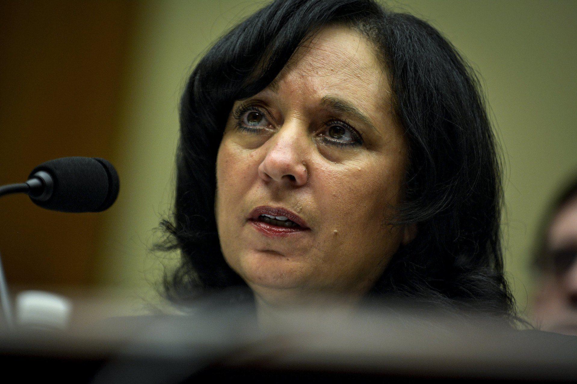 Image of DEA administrator Michele Leonhart