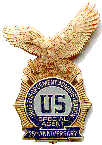 DEA badge. Image: Wikimedia Commons