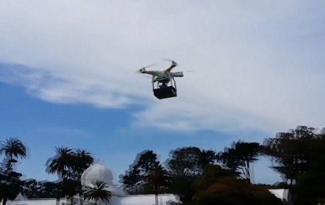 High flyer: THC via UAV could soon be taking to Californian skies through medical marijuana firm Trees. Image: Trees via International Business Times