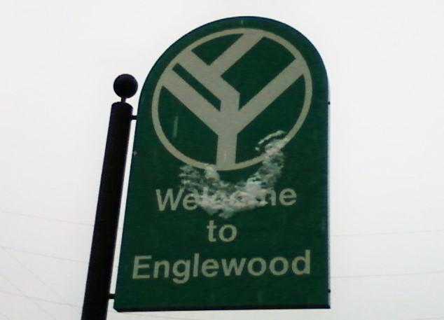 Sign for Englewood, Colorado. Image: Xnatedawgx via Wikimedia Commons