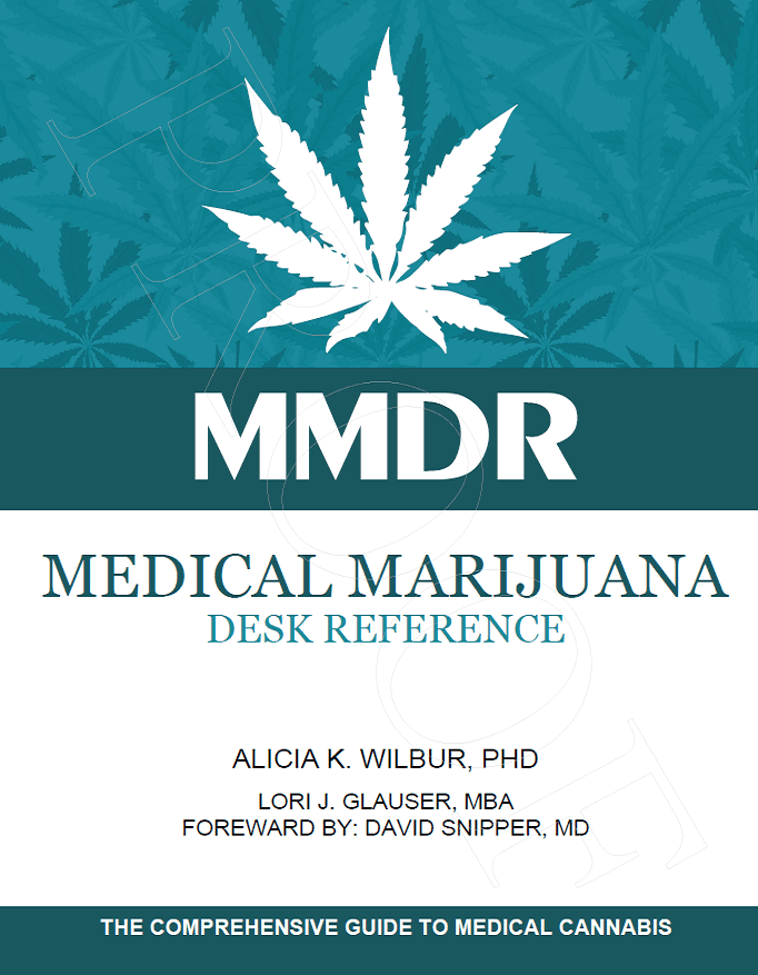 Image of the Medical Marijuana Desk Reference Book
