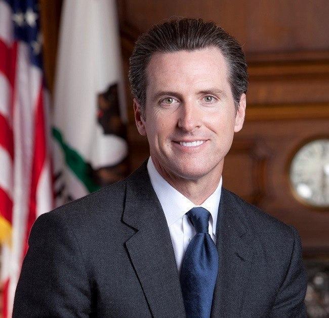 Lieutenant Governor of California Gavin Newsom. Image via Wikimedia Commons