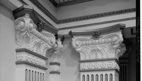 Detail, Georgia State Senate Chambers. Image via Wikimedia Commons