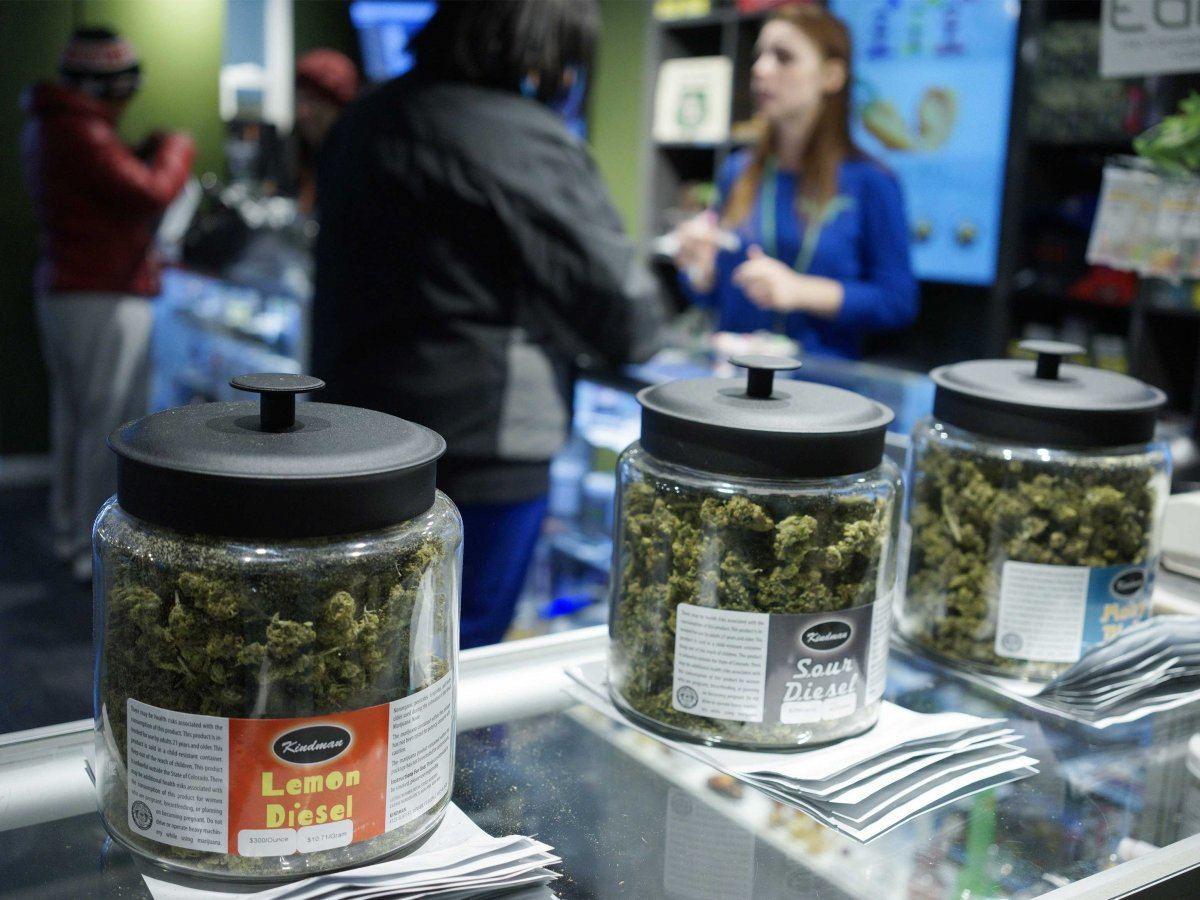 Image of legal marijuana at The Grass Station, one of Denver's best recreational marijuana dispensaries.