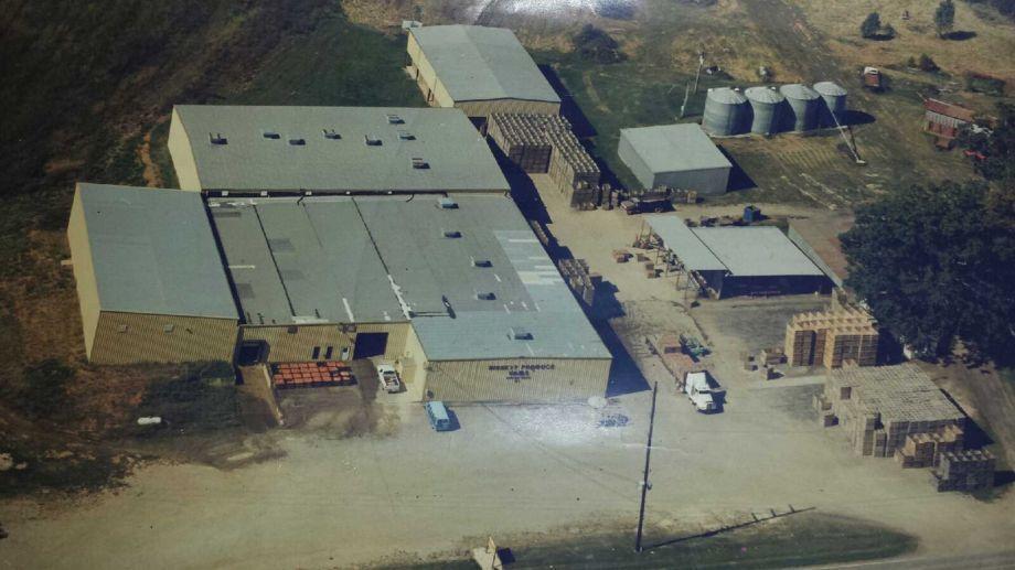 Image of an industrial hemp facility