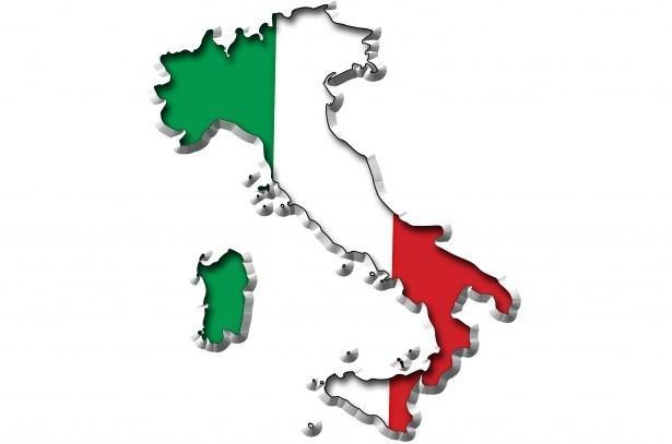 Map of Italy and Flag. Image: George Hodan