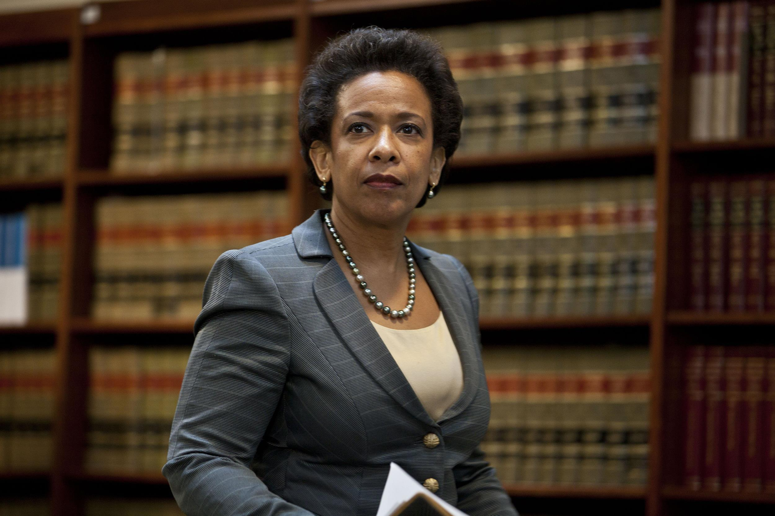 Image of Loretta Lynch, new US Attorney General 4-2105
