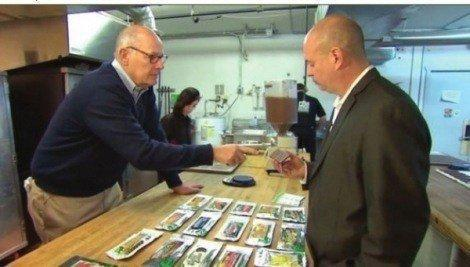 Image of legal cannabis edibles sale