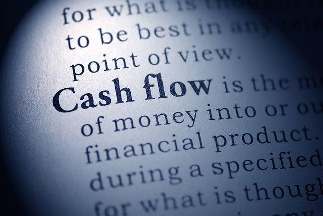 Cash Flow and issuing marijuans industry stock.
