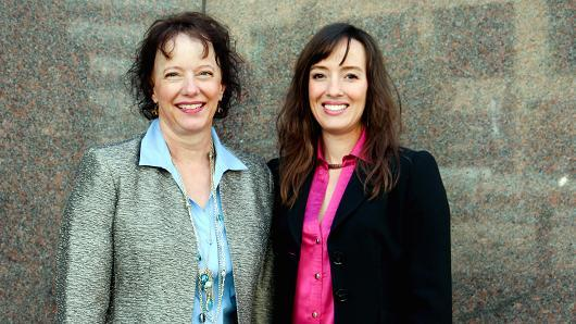 Image of MJ Freeway CEO Amy Poinsett and COO Jessica Billingsley
