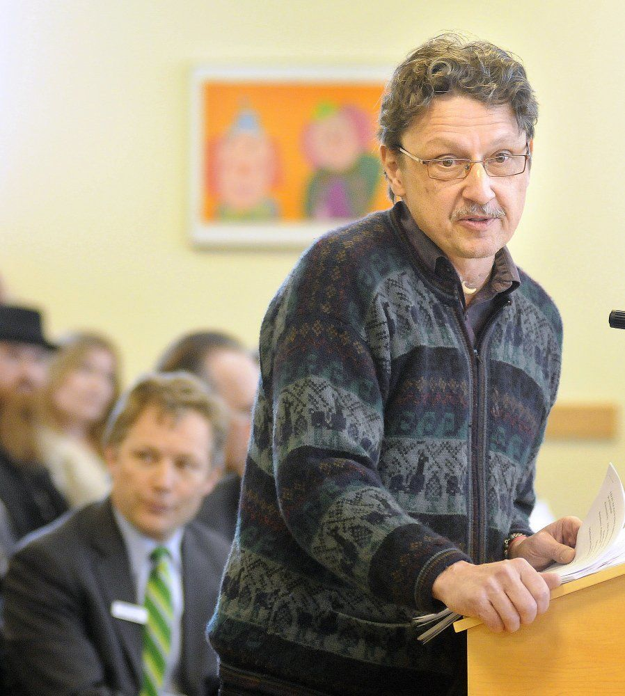 Image of Maine medical marijuana advocate Dr. John Woytowitz