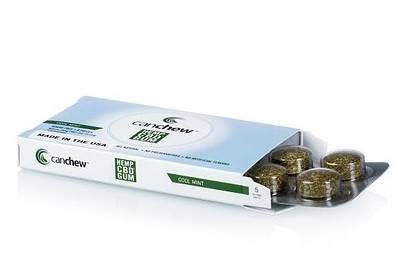 AXIM already has a cannabinoid chewing gum product, known as CanChew, on the market. Image AXIM via MarketWatch.com.