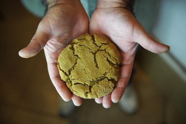 A file photo of a marijuana-infused cookie in Denver, Colorado. (Erin Hull, The Denver Post)