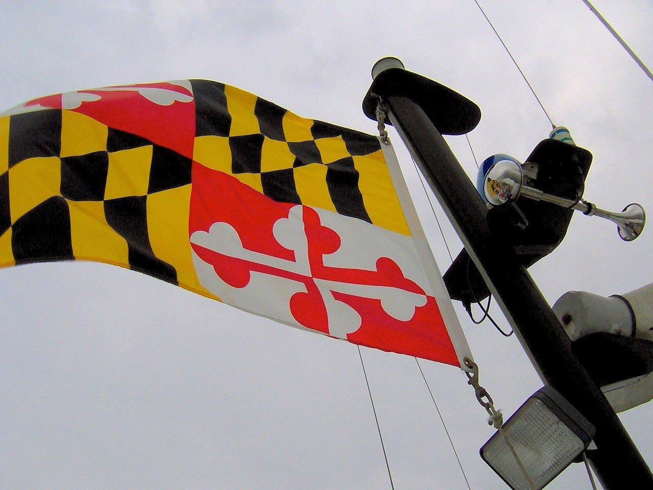 Maryland State Flag. Image: Lee Cannon via Wikimedia Commons