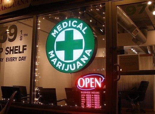 Medical marijuana shop in Denver. Image: UserODea via Wikimedia Commons.