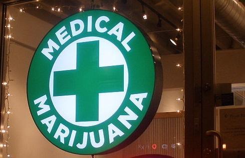 MedicalMarijuanaSignImageODeaViaWikimediaCommons