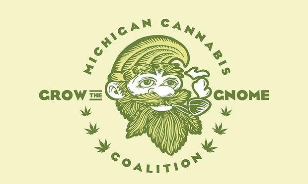 The logo for the Michigan Cannabis Coalition, one of two groups seeking to put a marijuana legalization proposal on the Michigan ballot in 2016. Image via MLive.com