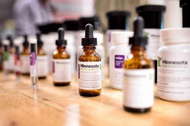 Image of medical marijuana products available in Minnesota