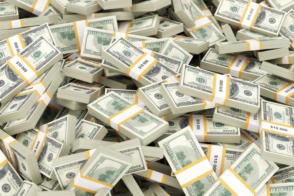 Image of millions of dollars!