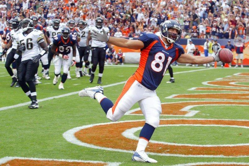 Image of Nate Jackson former Bronco that is pro marijuana for the NFL