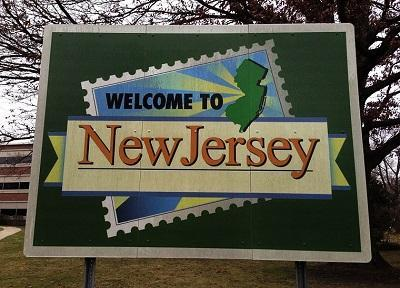 New Jersey welcome sign. Image: Famartin via Wikimedia Commons