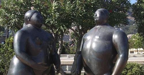 Fernando Botero sculpture. Image: Piponwa via Wikimedia Commons