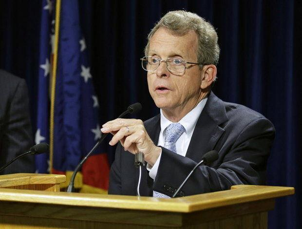 Ohio Attorney General Mike DeWine filed suit Tuesday against the city of Toledo over its new marijuana decriminalization law, which DeWine says are in conflict with state law. Image: Associated Press via Cleveland.com