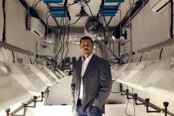 Image of Derek Peterson, chief executive, Terra Tech Corp.