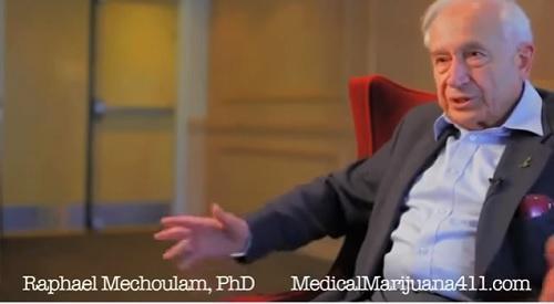 RaphaelMechoulamTHCScientistVideoImageMedicalMarijuana411Dotcom
