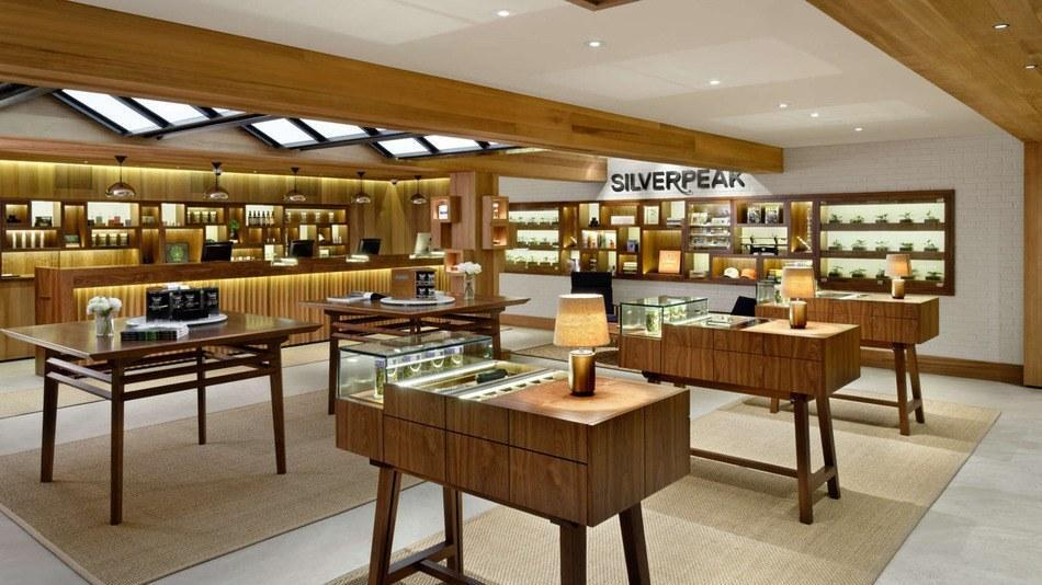 Image of a high end recreational marijuana store in Aspen Colorado