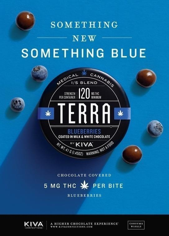 Image of marijuana infuse edibles from Kiva Confections