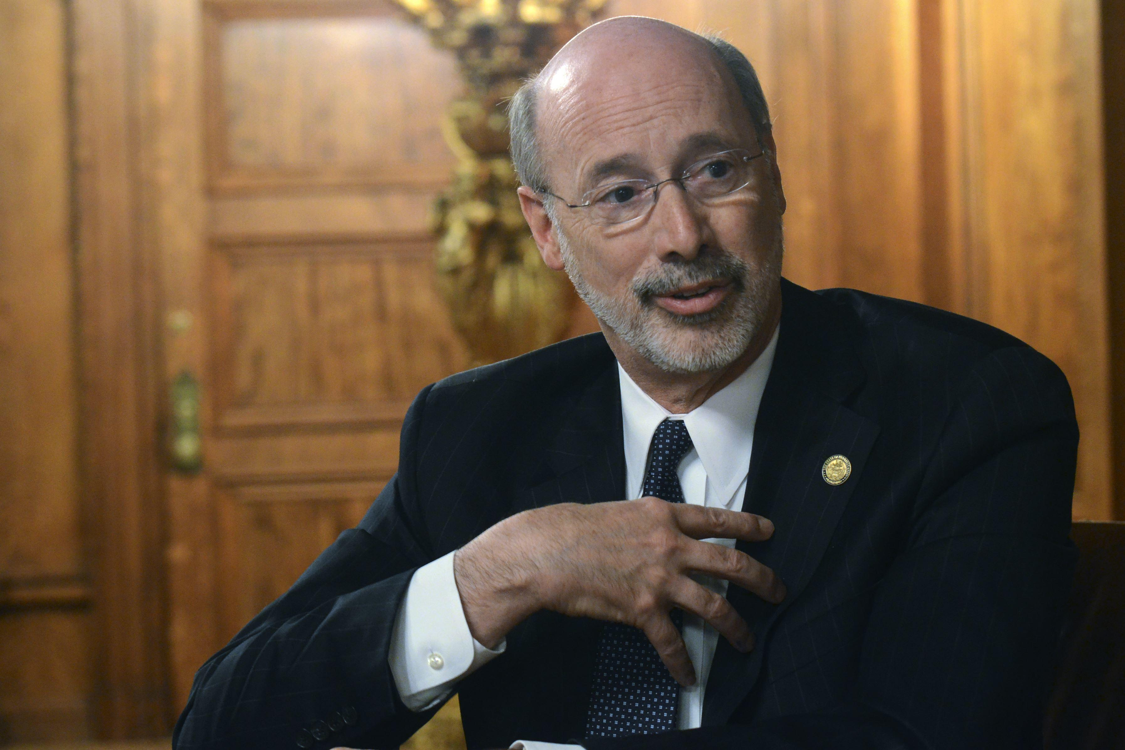 Image of Pennsylvania Governor Tom Wolf