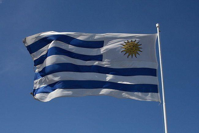 Flag of Uruguay. Image: Gabriel Millos via Wikimedia Commons